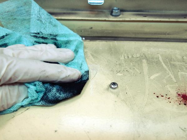 За почистване на силно замърсени с тонер и прах повърхности.