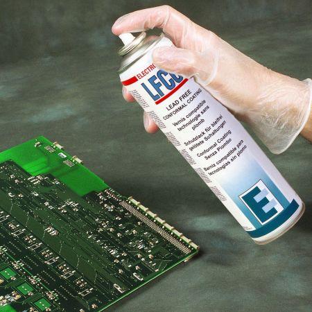 Защитно силиконово покритие за печатни платки с безоловни технологии