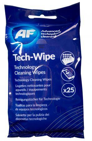 Навлажнени почистващи кърпи за смартфони в пакет MTW025P