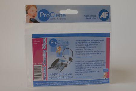 Комплект за почистване на телефони PHC100-4 бр.