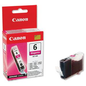 Canon BCI-6M Оригинална мастилена касета (магента)