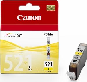 Canon CLI-521Y Оригинална мастилена касета (жълта)