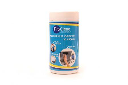 ProClene почистващи кърпи за екрани в туба SCR100T
