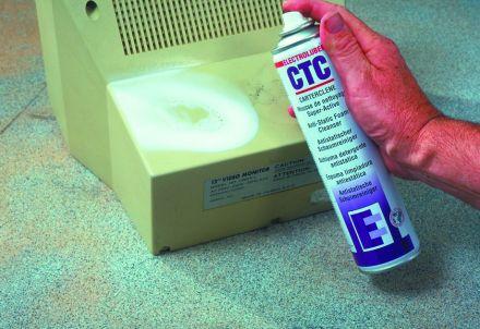 Антистатична пяна за силно замърсени твърди повърхности