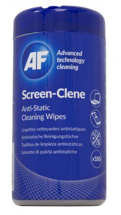 Навлажнени почистващи кърпи за екрани в туба SCR100T