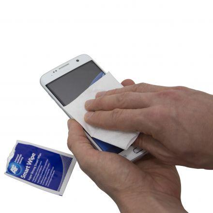 Смарткърпа за екрани на смартфони и таблети