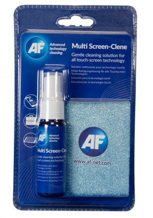 Спрей за почистване на смарт телефони и таблети с микрофибърна кърпа