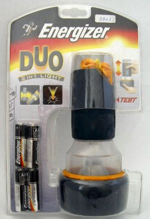 Фенерче Energizer Duo Rubber 4 x AA, 1x  LP 185, 4AA