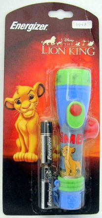 Фенерче Energizer Disney Lion King +2AA, 1x LP 299, 2 AA