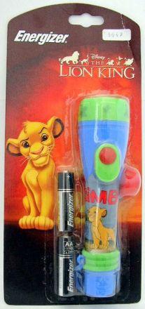 Фенерче Energizer Disney Lion King +2AA, 1x LP 299, 2 AA