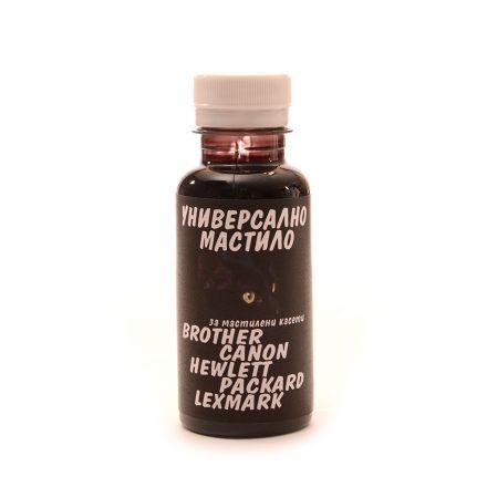 Универсално мастило за мастилени касети - 125 мл - черно