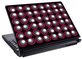 Скин за лаптоп LS0041, топки