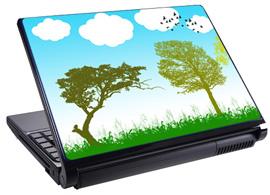 Скин за лаптоп LS3008, дървета