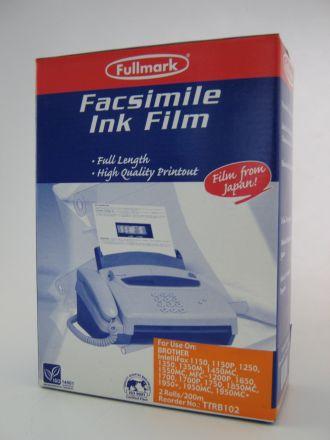 TTR филм лента за Brother PC 100/101/102/104RF - 2 ролки