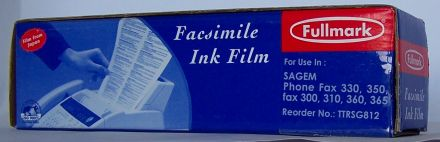 TTR филм лента за Sagem SGMTTR 812 - 1 ролкa, без чип
