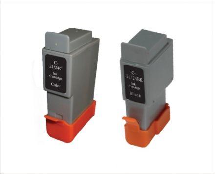 BCI-21Col, BCI-24Col Съвместим патрон (цветен)