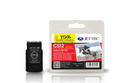 PG-512 Съвместима мастилена касета (черна)