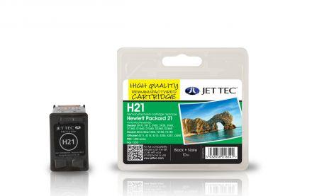 C9351A, HP21 Съвместима мастилена касета (черна)