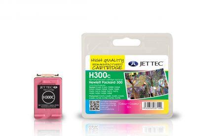 CC643EE, HP300 Съвместима мастилена касета (цветна)