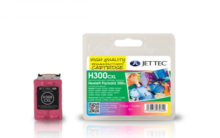 CC644EE, HP300xl Съвместима мастилена касета (цветна)