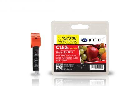 CLI-521 Съвместима мастилена касета (черна) с чип