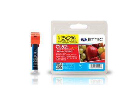 CLI-521 Съвместима мастилена касета (циан) с чип