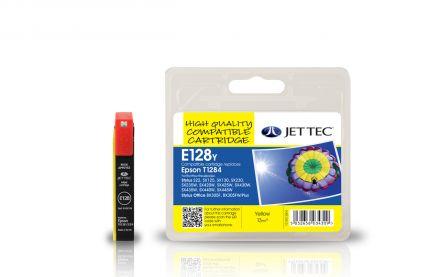 T1284 Съвместима мастилена касета (жълта)