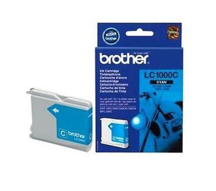 Brother LC1100C Оригинална мастилена касета (син)