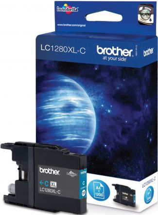 Brother LC1280XL-CY Оригинална мастилена касета (циан)
