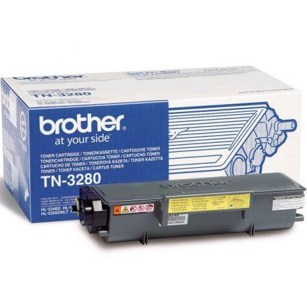 Brother TN3280 оригинален тонер кит (черен)