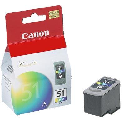 Canon CL-51оригинална мастилена глава (цветна)