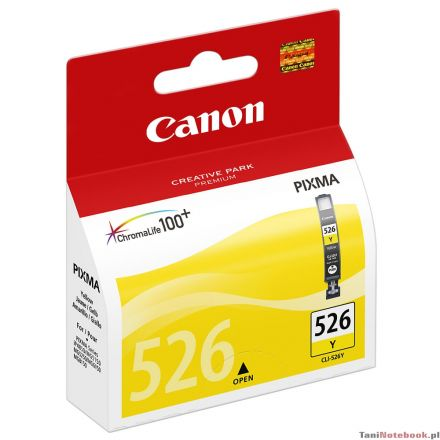 Canon CLI-526Y Оригинална мастилена касета (жълта)