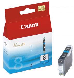Canon CLI-8C Оригинална мастилена касета (циан)