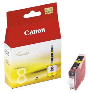 Canon CLI-8Y Оригинална мастилена касета (жълта)