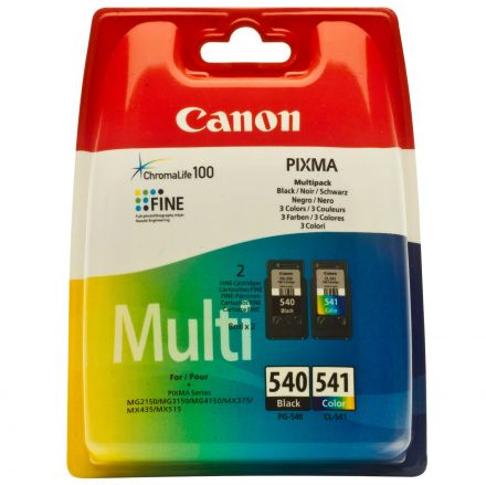 Canon Multi Pack CL-541&PG-540  оригинални мастилени глави
