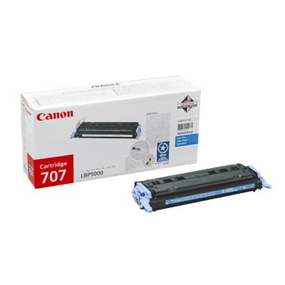 Canon Cartridge 707 оригинална тонер касета (циан)