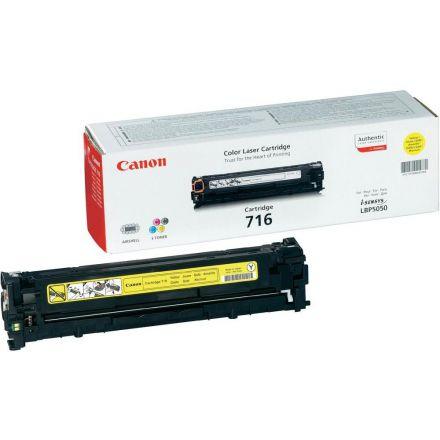 Canon Cartridge 716 оригинална тонер касета (жълта)