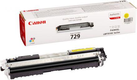 Canon Cartridge 729 оригинална тонер касета (жълта)