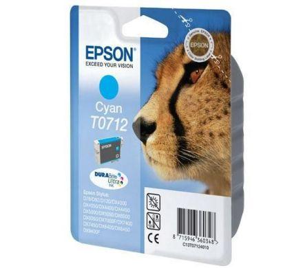 Epson T071240 Оригинална мастилена касета (циан)