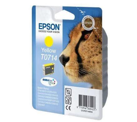 Epson T071440 Оригинална мастилена касета (жълта)