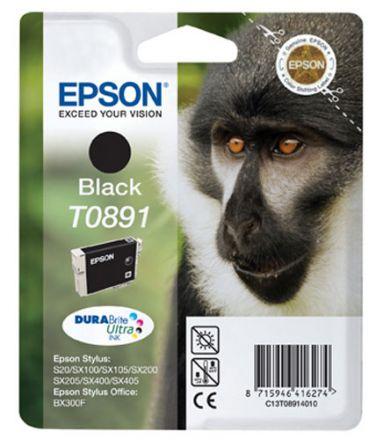 Epson T0891 Оригинална мастилена касета (черна)