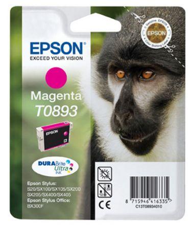Epson T0893 Оригинална мастилена касета (магента)