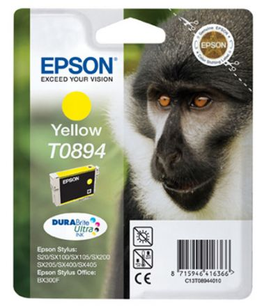 Epson T0894 Оригинална мастилена касета (жълтао)