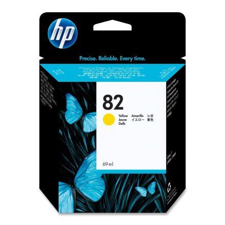HP C4913A(HP82) Оригинална мастилена касета (жълта)