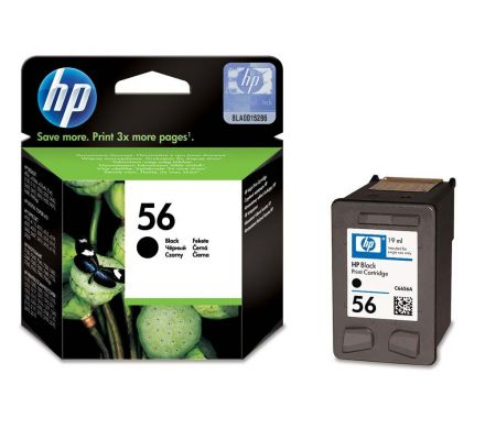 HP C6656AE оригинална мастилена касета (черна)