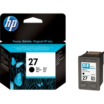 HP C8727AE оригинална мастилена касета (черна)