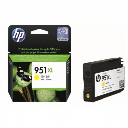 HP CN048AE Оригинална касета мастилена глава (жълта)