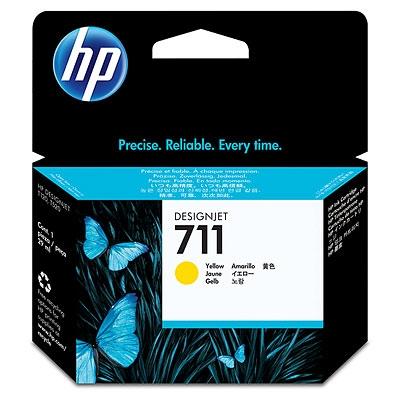 HP CZ132A оригинална мастилена касета (жълт)