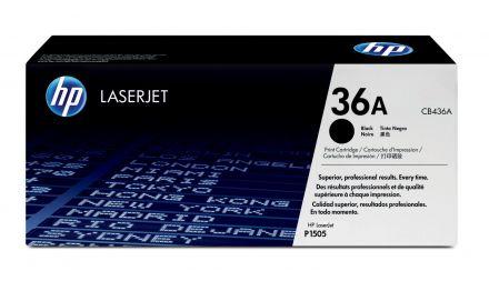 HP CB436A оригинална тонер касета (черна)