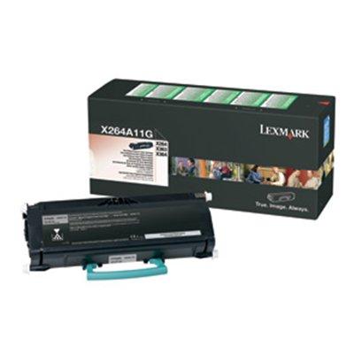 Lexmark 0X264A11G оригинална тонер касета (черна)